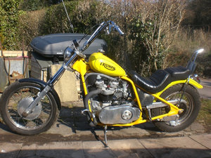 1955 Triumph Thunderbird Chopper Dresda engine For Sale