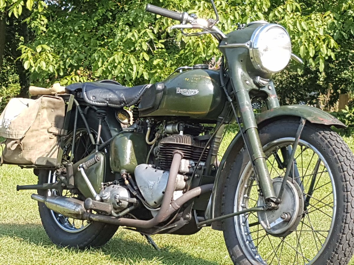 1964 Triumph TRW500 All Working Tested with Video  For Sale (picture 1 of 6)