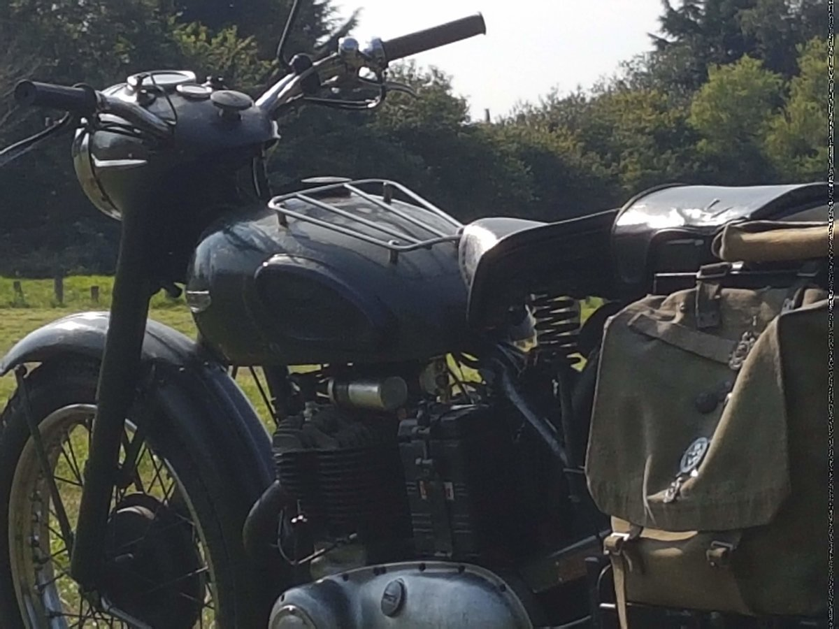 1964 Triumph TRW500 All Working Tested with Video  For Sale (picture 3 of 6)