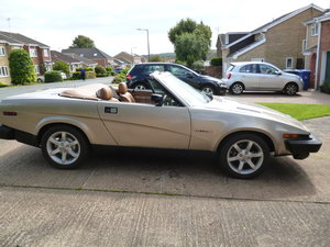 1981 Triumph TR7 DHC In Gold For Sale