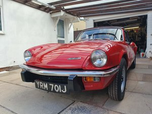 1971 Fantastic Red Spitfire Mk IV For Sale