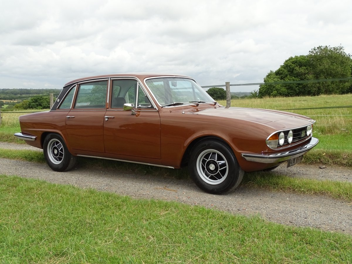 1976 Delightful Triumph 2500S automatic saloon,power steering. SOLD (picture 1 of 6)