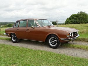 1976 Delightful Triumph 2500S automatic saloon,power steering. SOLD