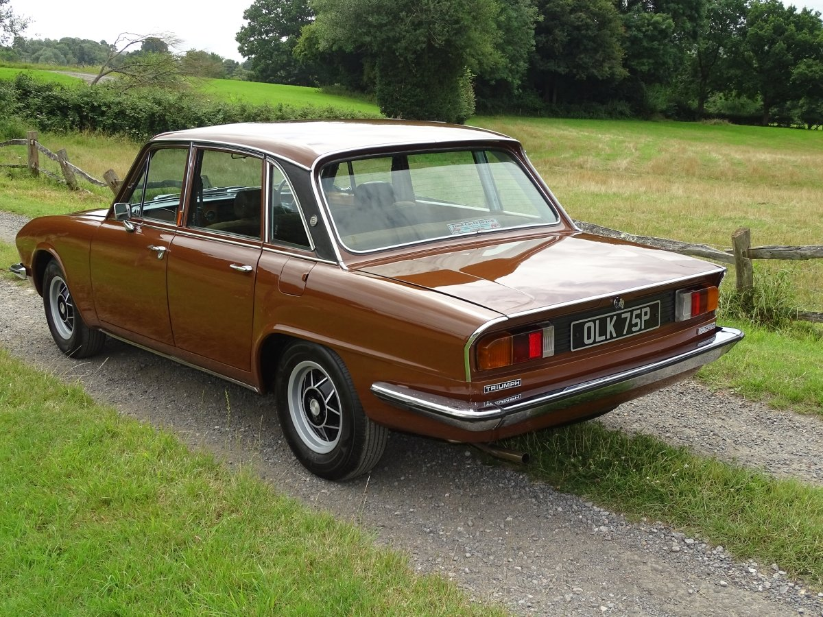 1976 Delightful Triumph 2500S automatic saloon,power steering. SOLD (picture 2 of 6)