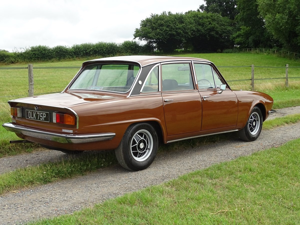 1976 Delightful Triumph 2500S automatic saloon,power steering. SOLD (picture 3 of 6)