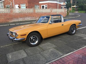1972 Triumph Stag - Saffron Yellow - Ford 3.0 V6 For Sale