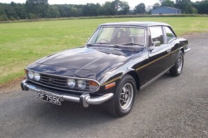 Triumph stag,man o/d,black,outstanding paintwork, For Sale