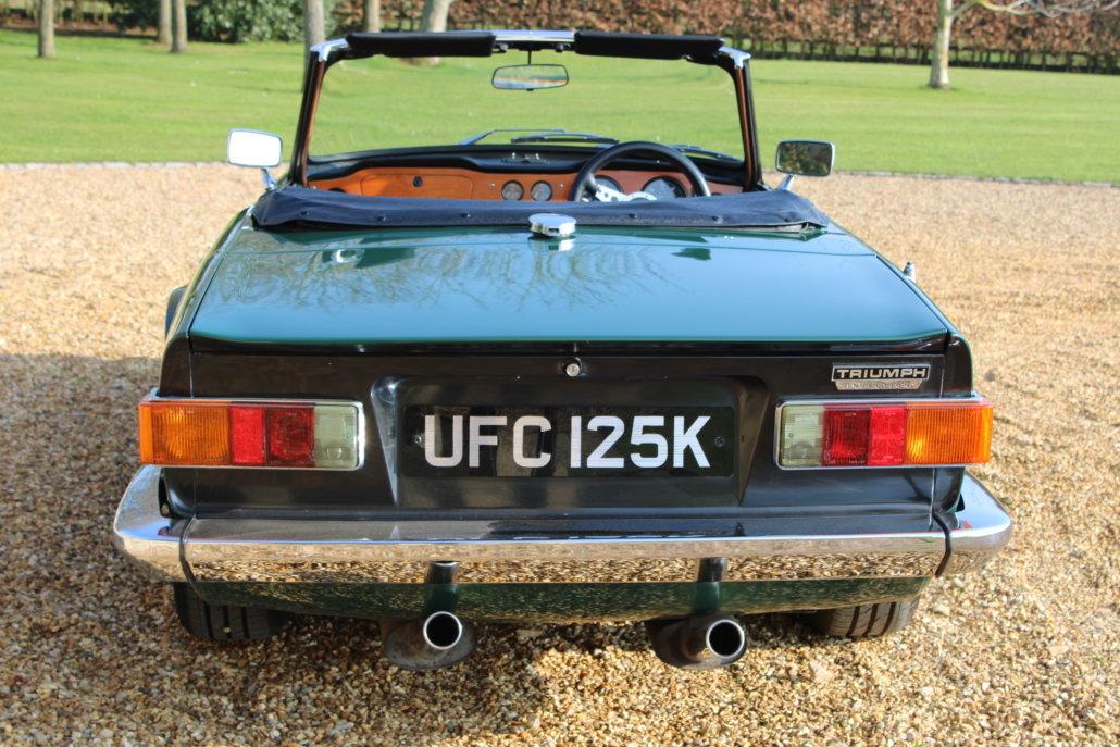 1971 TRIUMPH TR6 BHP - £31,950 For Sale (picture 3 of 13)