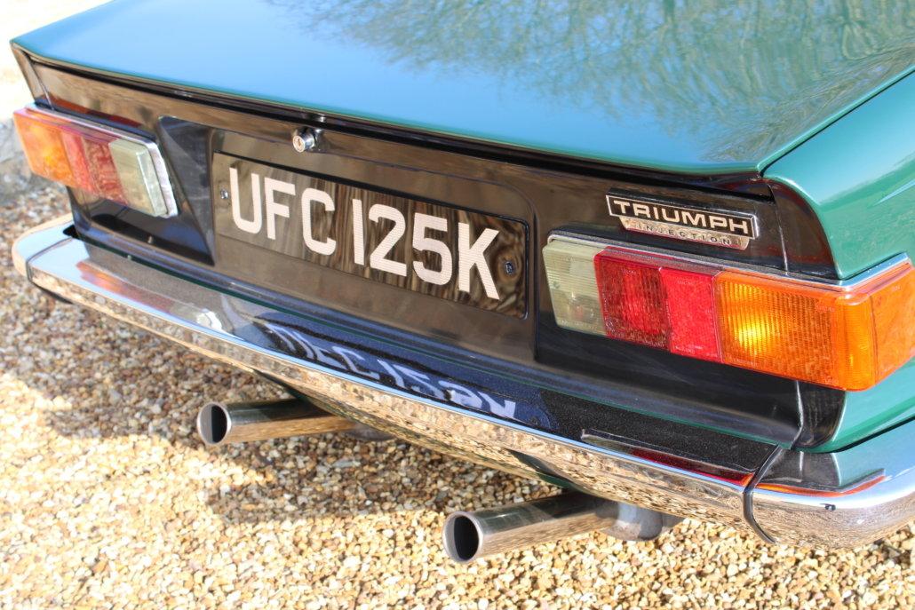 1971 TRIUMPH TR6 BHP - £31,950 For Sale (picture 6 of 13)