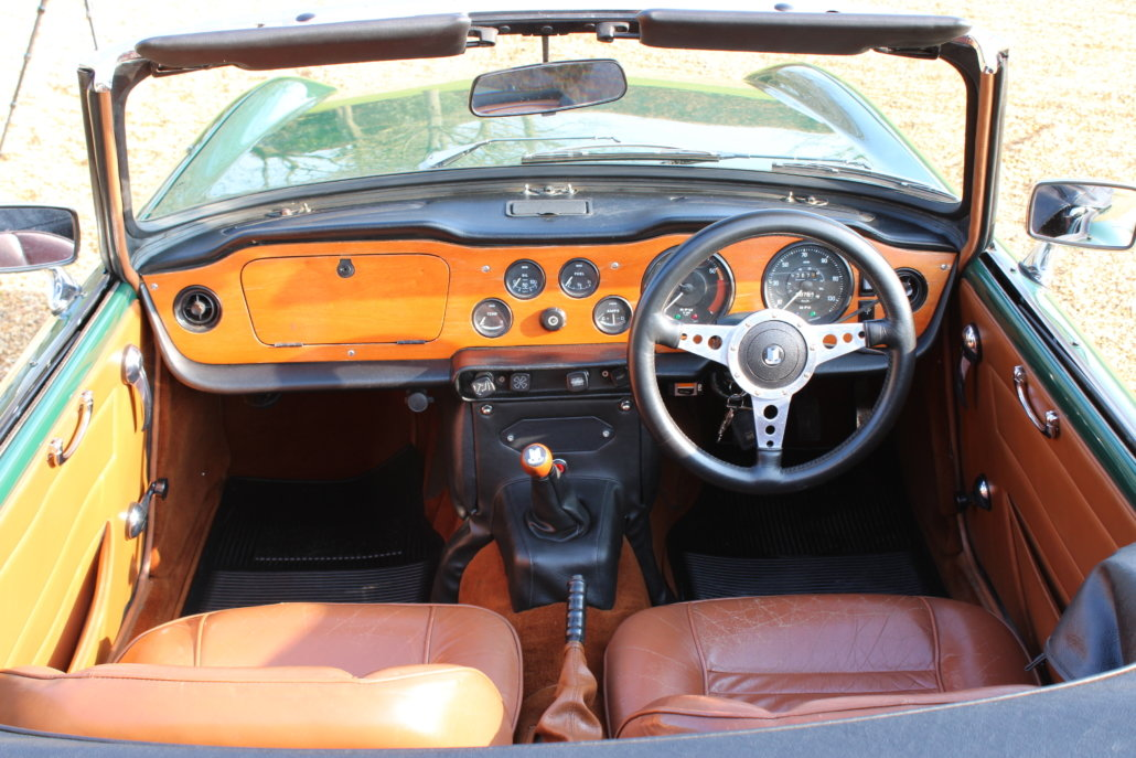 1971 TRIUMPH TR6 BHP - £31,950 For Sale (picture 8 of 13)