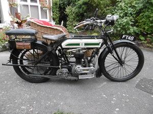 1920 Triumph Model H Combination