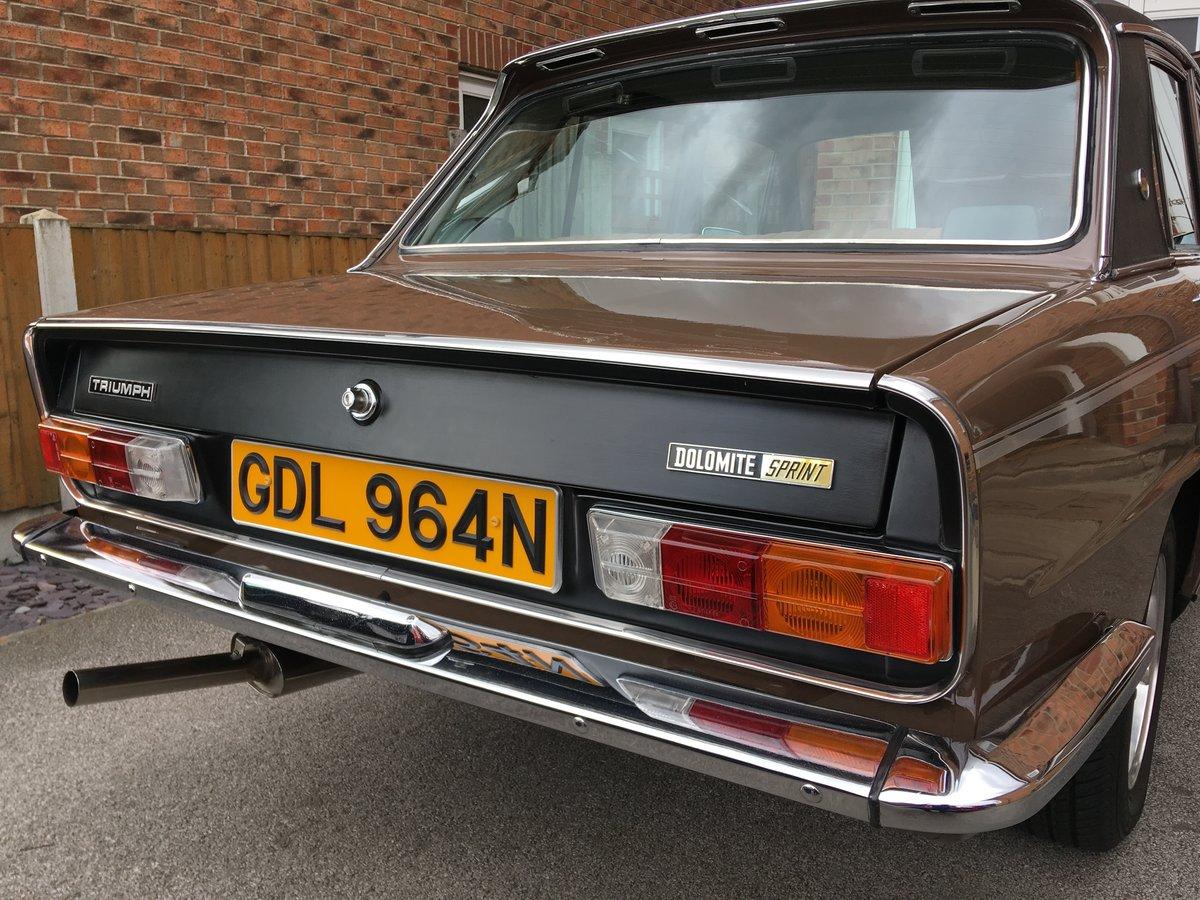 1975 Triumph Dolomite Sprint SOLD (picture 2 of 6)