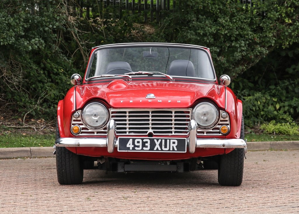 1962 Triumph TR4 SOLD by Auction (picture 1 of 6)