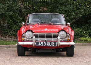 1962 Triumph TR4 SOLD by Auction