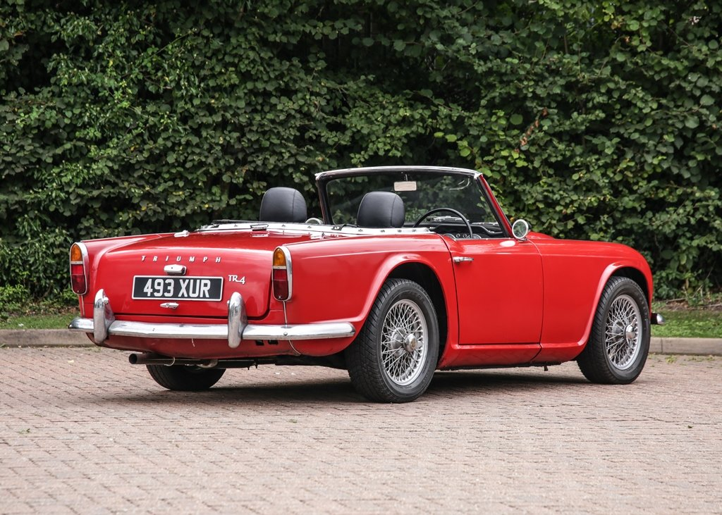 1962 Triumph TR4 SOLD by Auction (picture 2 of 6)