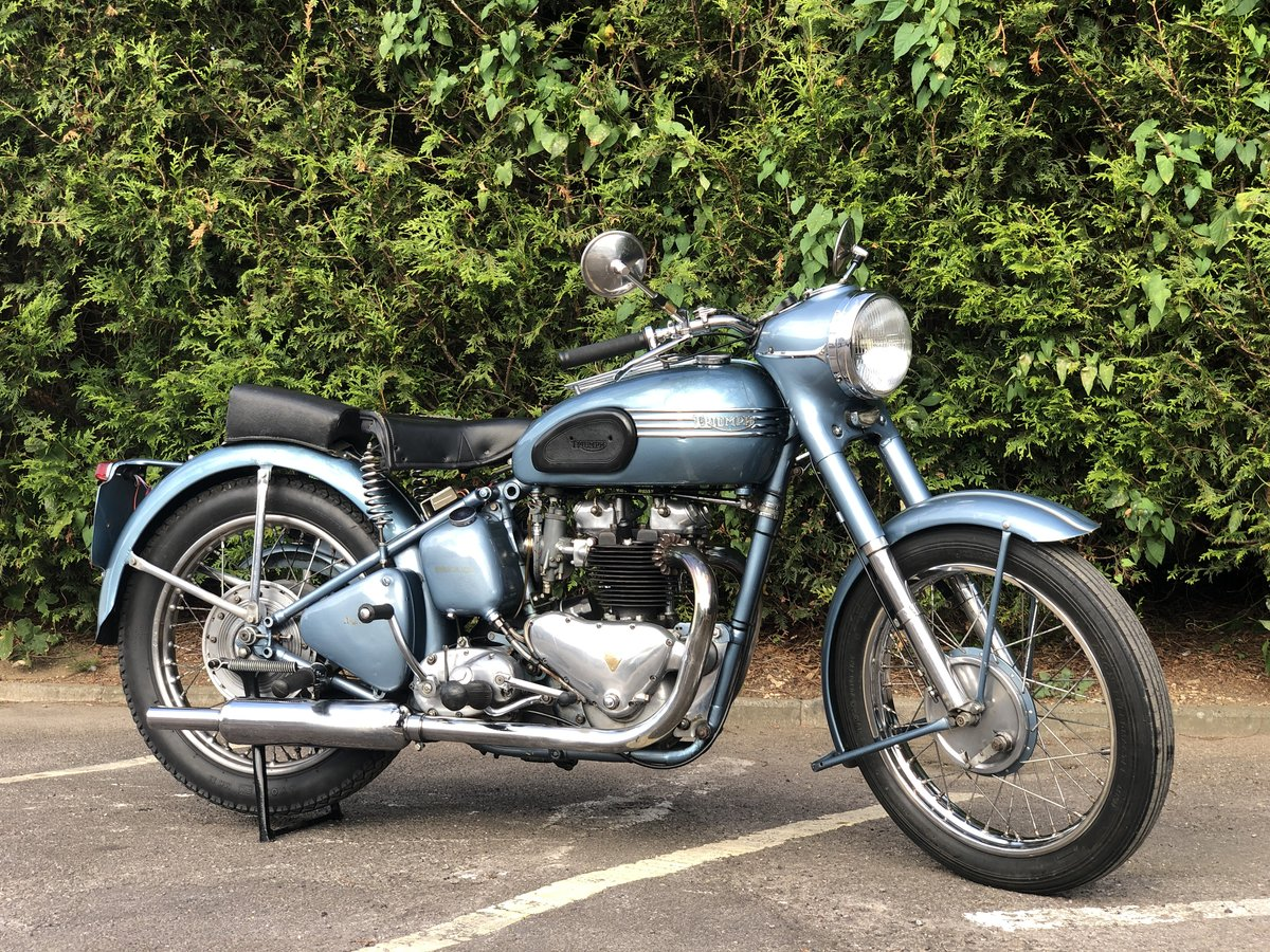 Triumph Thunderbird 1953 650cc Matching Number For Sale (picture 1 of 6)