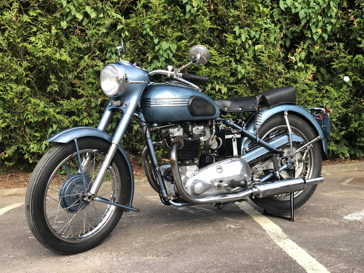 Triumph Thunderbird 1953 650cc Matching Number For Sale (picture 2 of 6)