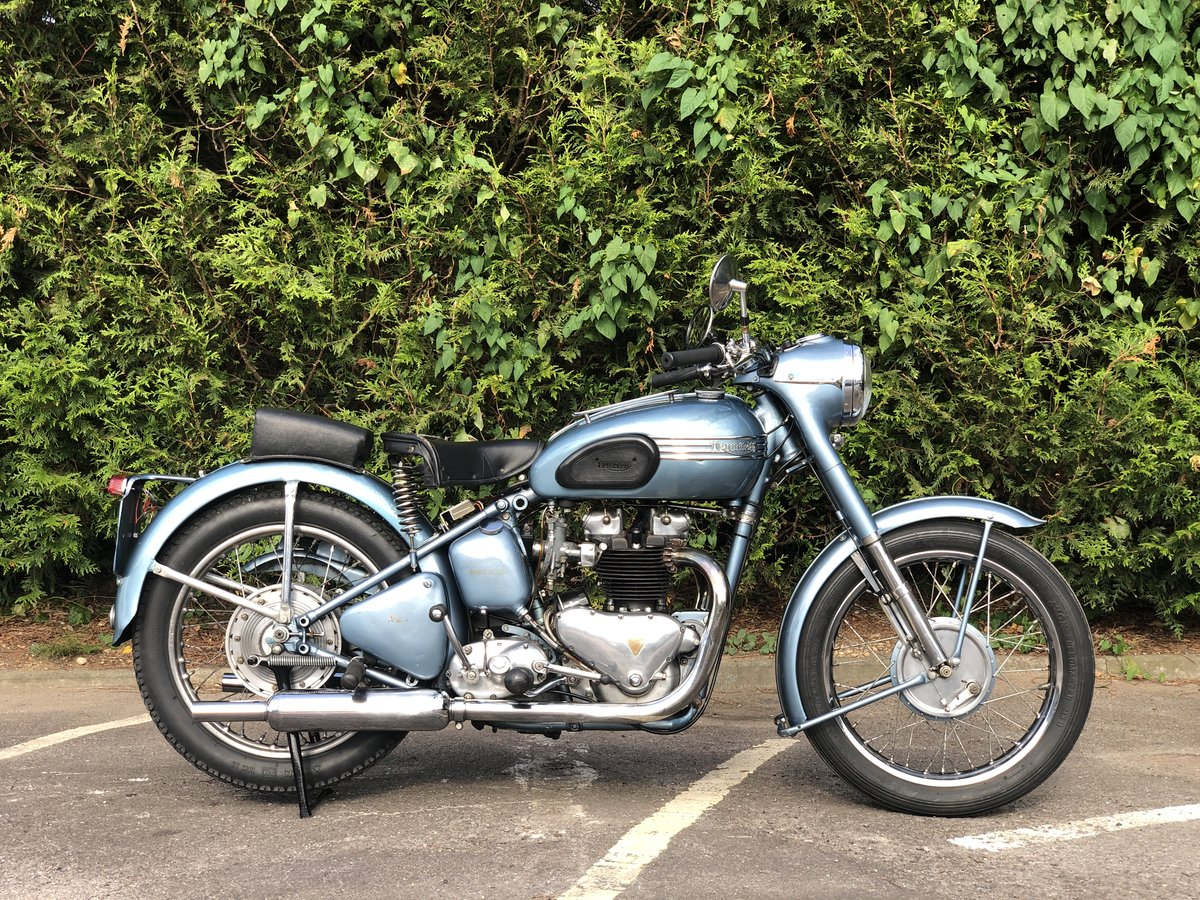 Triumph Thunderbird 1953 650cc Matching Number For Sale (picture 3 of 6)