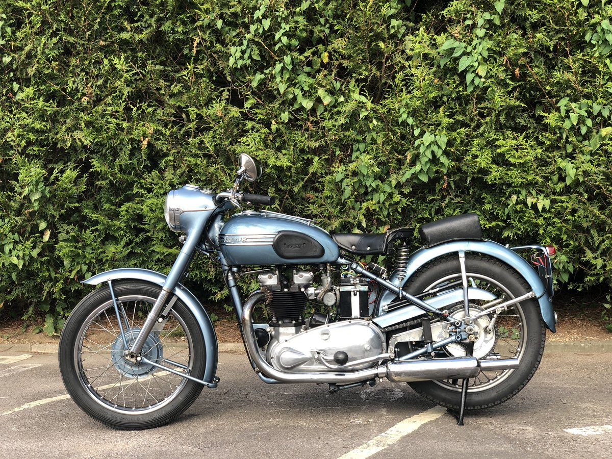 Triumph Thunderbird 1953 650cc Matching Number For Sale (picture 4 of 6)