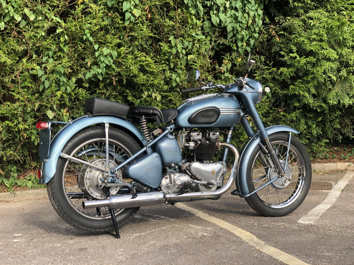 Triumph Thunderbird 1953 650cc Matching Number For Sale (picture 5 of 6)