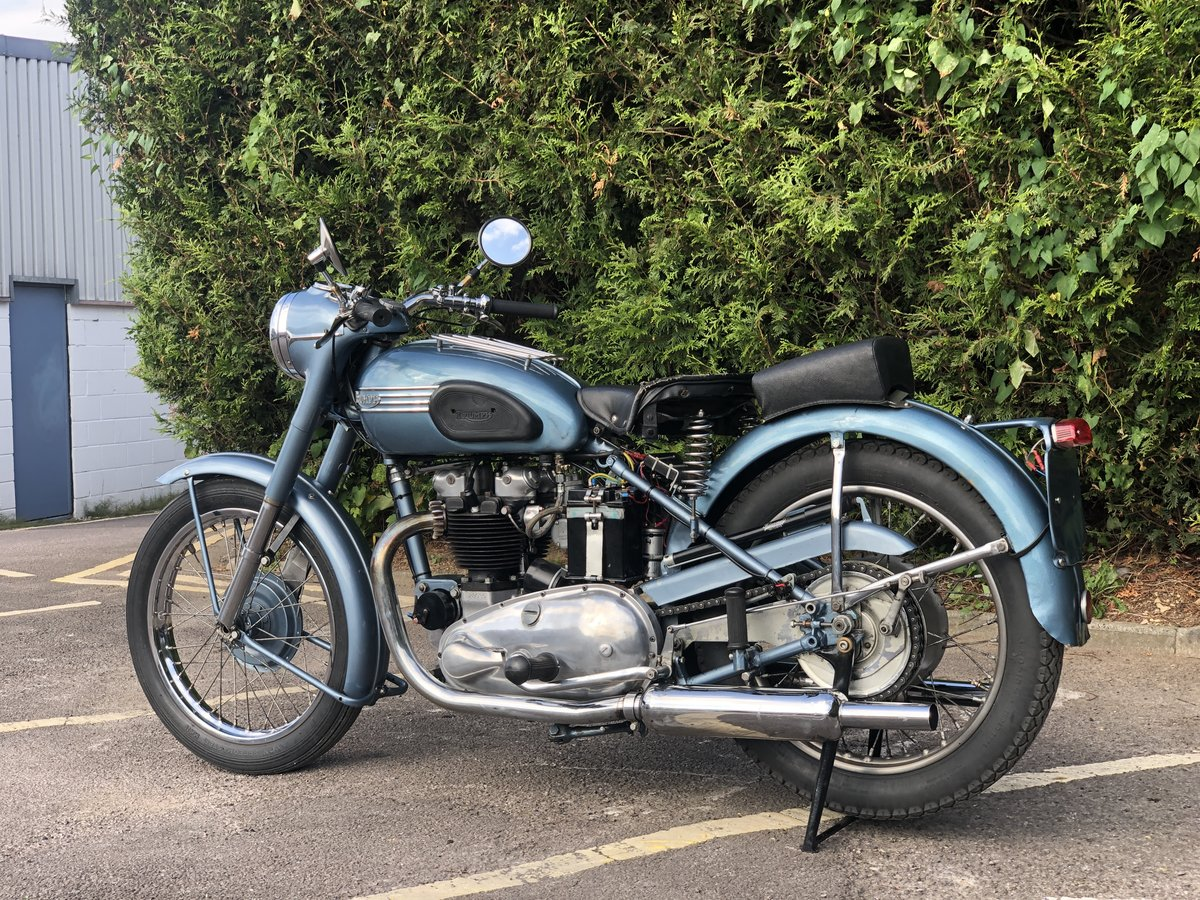 Triumph Thunderbird 1953 650cc Matching Number For Sale (picture 6 of 6)