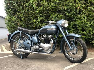 1953 Triumph 6T Thunderbird 650cc rigid sprung hub model For Sale