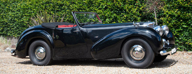 1946 TRIUMPH 2000 ROADSTER For Sale by Auction