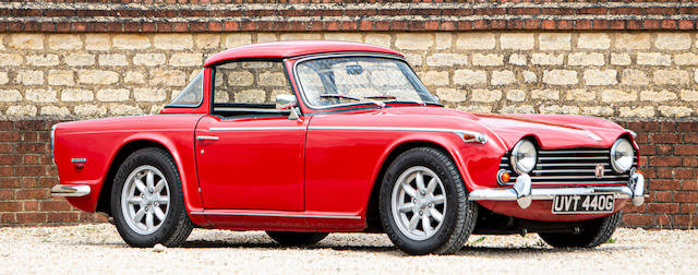 1968 TRIUMPH TR5 WITH SURREY TOP For Sale by Auction