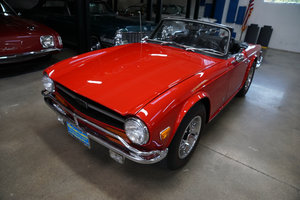 1972 Triumph TR6 with vintage Judson supercharger For Sale