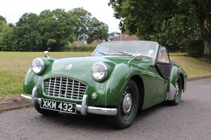 Triumph TR3 1956 - To be auctioned 25-10-19 For Sale by Auction