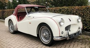 1954 TRIUMPH TR2 LONG DOOR