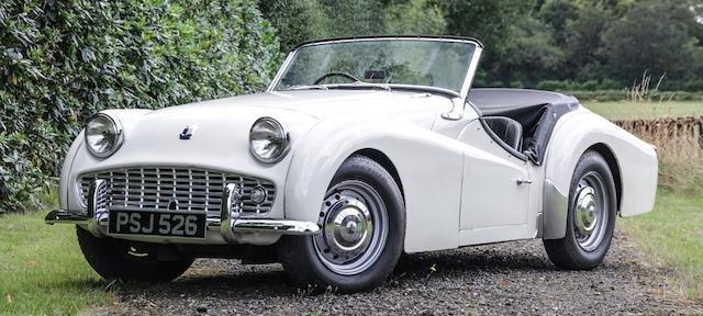 1959 TRIUMPH TR3A For Sale by Auction