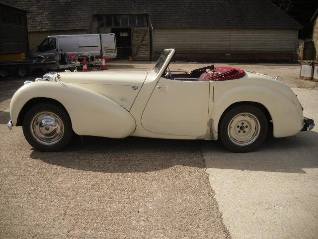 1949 TRIUMPH ROADSTER 2000CC For Sale (picture 1 of 5)
