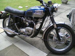 Triumph T120 Bonneville, 1970 , Last of oil tank Model For Sale