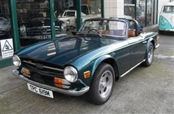 1973 TR6 - Barons Friday 20th September 2019 For Sale by Auction