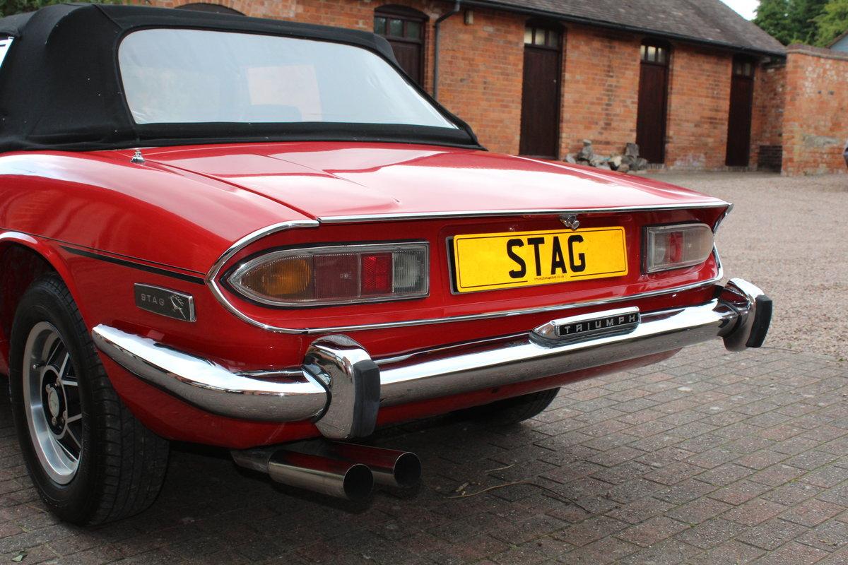 Triumph Stag Mk1 Auto 4 Speed 1972. For Sale (picture 3 of 6)