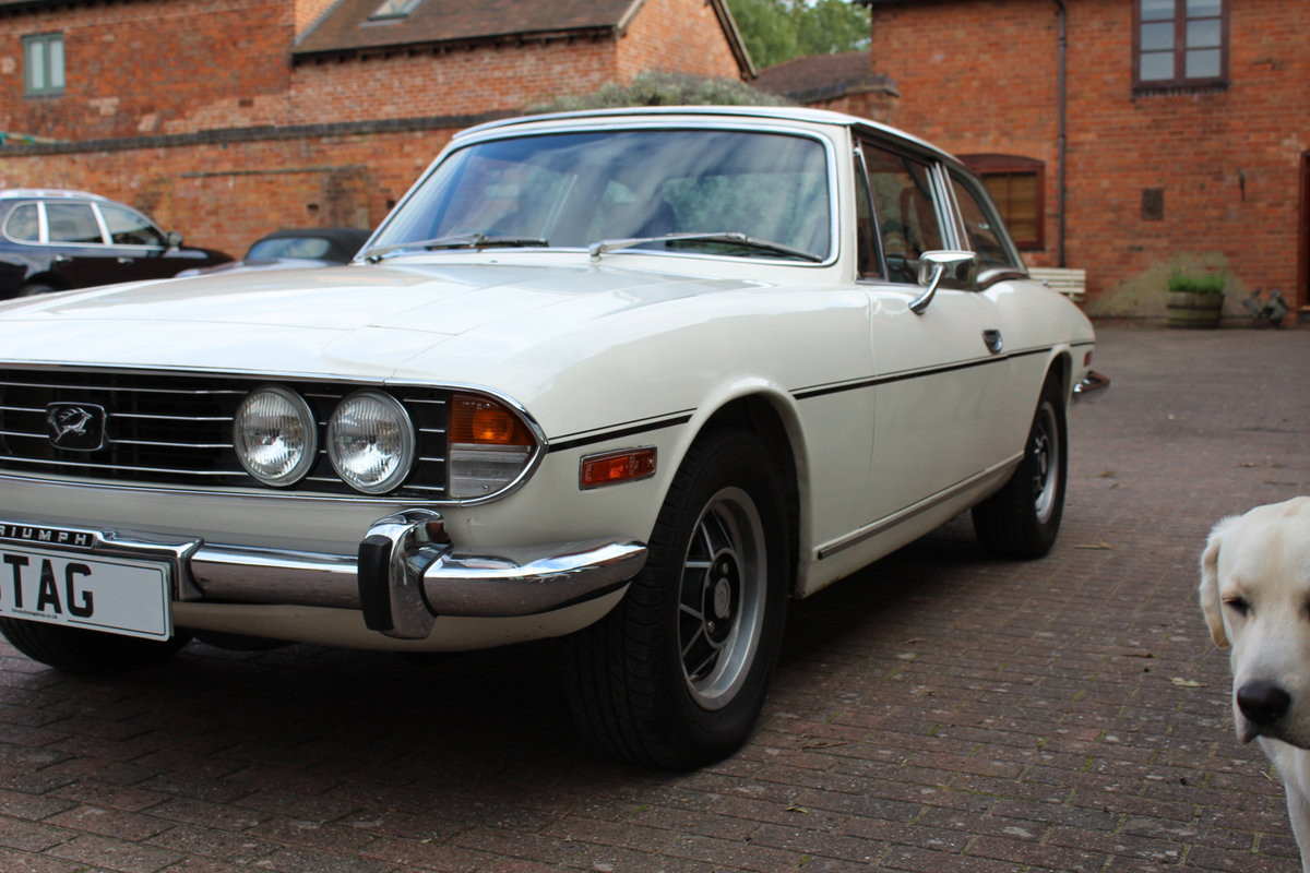 Triumph Stag Mk11 Manual 1974.(((((Deposit Taken Sorry)))) For Sale (picture 5 of 6)