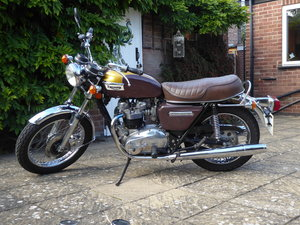 1978 Triumph Bonneville T140  Original Low mileage