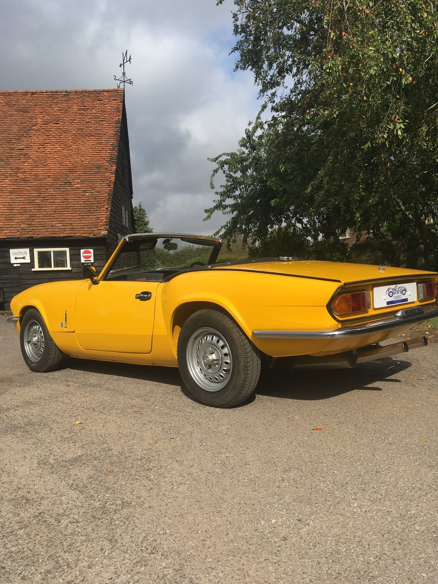 1977 Triumph Spitfire MkIV - immaculate, restored For Sale (picture 2 of 6)
