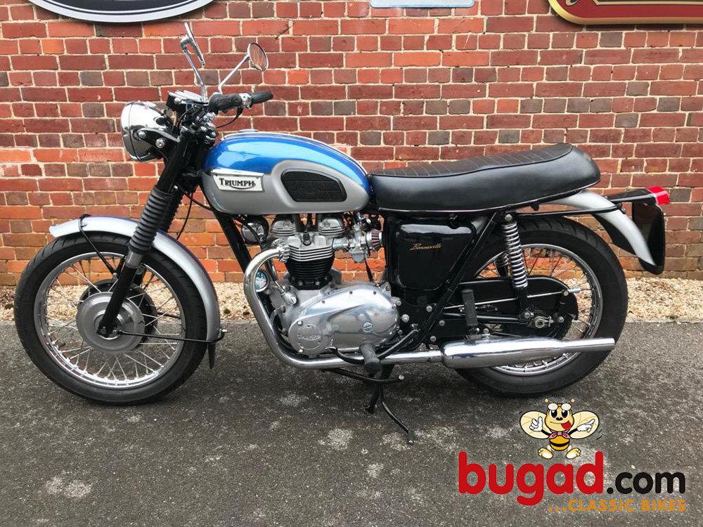 Triumph T120 Bonneville - 1969 UK Model For Sale (picture 2 of 6)