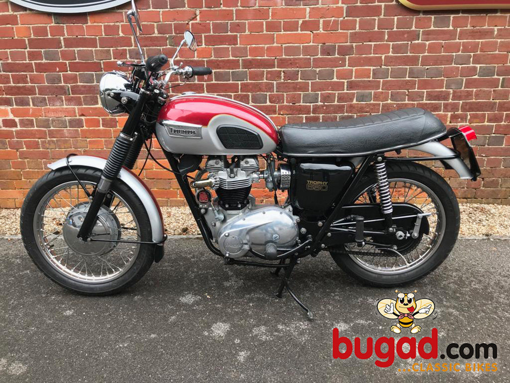 Triumph TR6 Trophy - 1969 UK Model For Sale (picture 2 of 6)