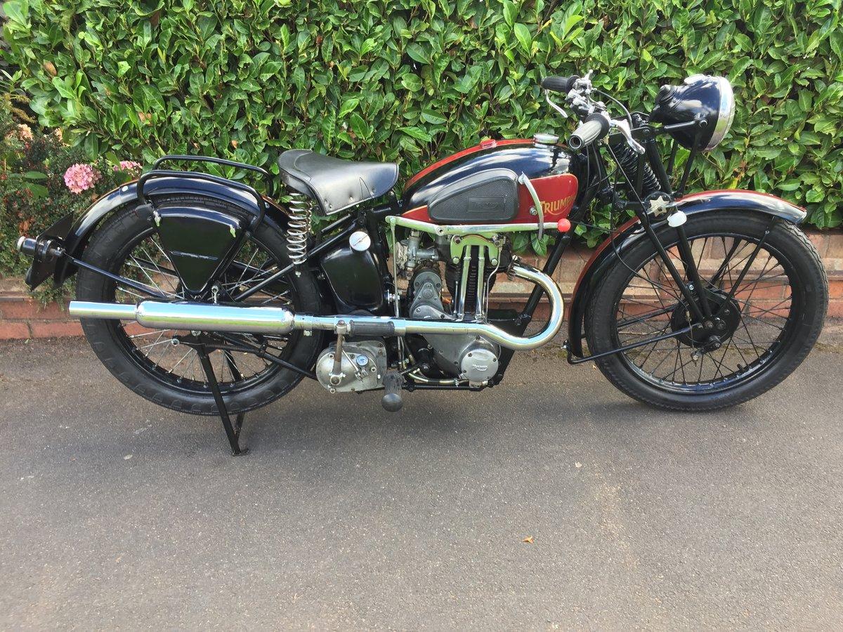 1935 TRIUMPH L2/1  250 cc (very rare) SOLD (picture 1 of 6)