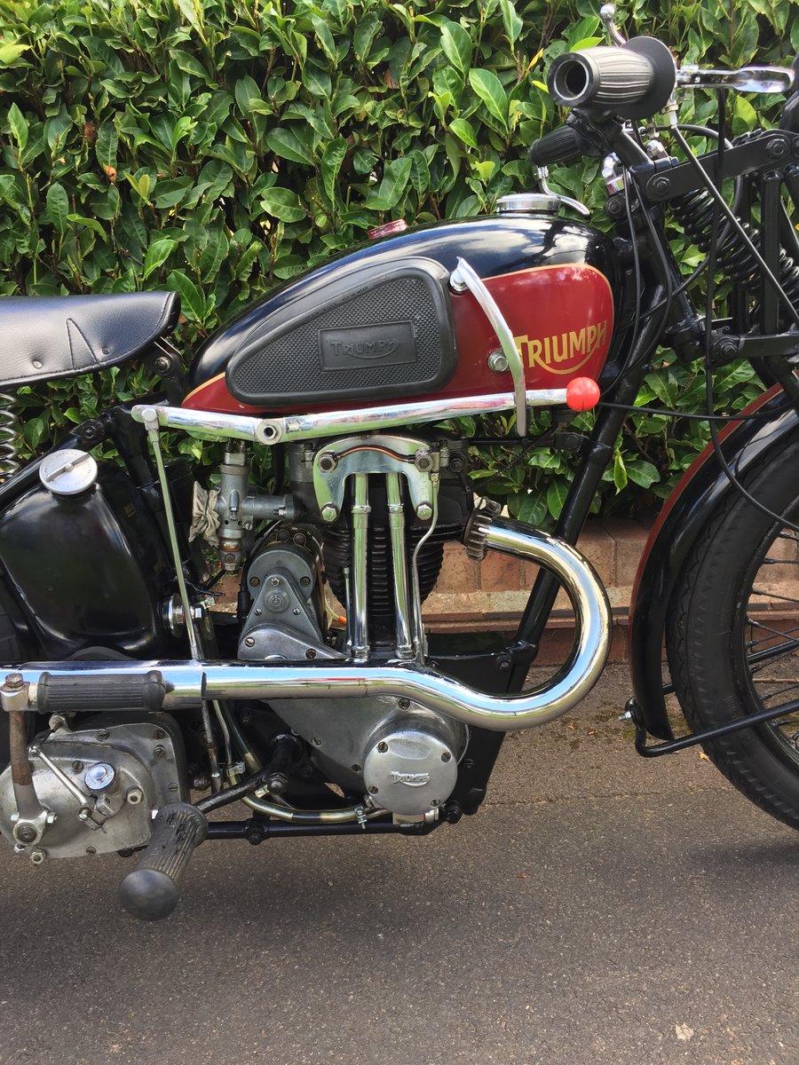 1935 TRIUMPH L2/1  250 cc (very rare) SOLD (picture 3 of 6)