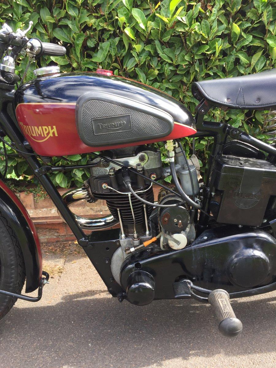 1935 TRIUMPH L2/1  250 cc (very rare) SOLD (picture 4 of 6)