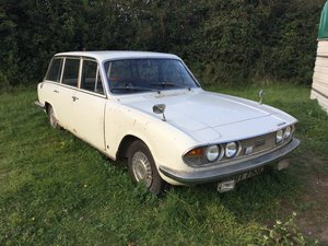 "1972 Triumph 2000 estate Mk 2, ""Barn find"""