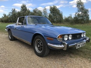 1974 Triumph Stag 3.0 V8 Manual with Overdrive