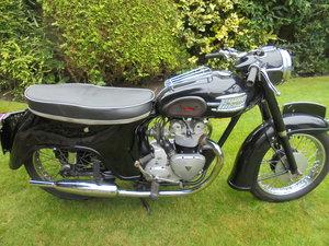 1961 triumph 3ta t21 bathtub nice bike