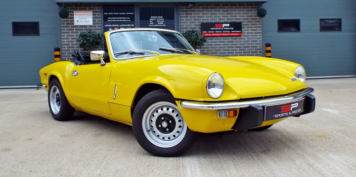 1972  Triumph Spitfire Mark IV Great Example  For Sale (picture 1 of 6)