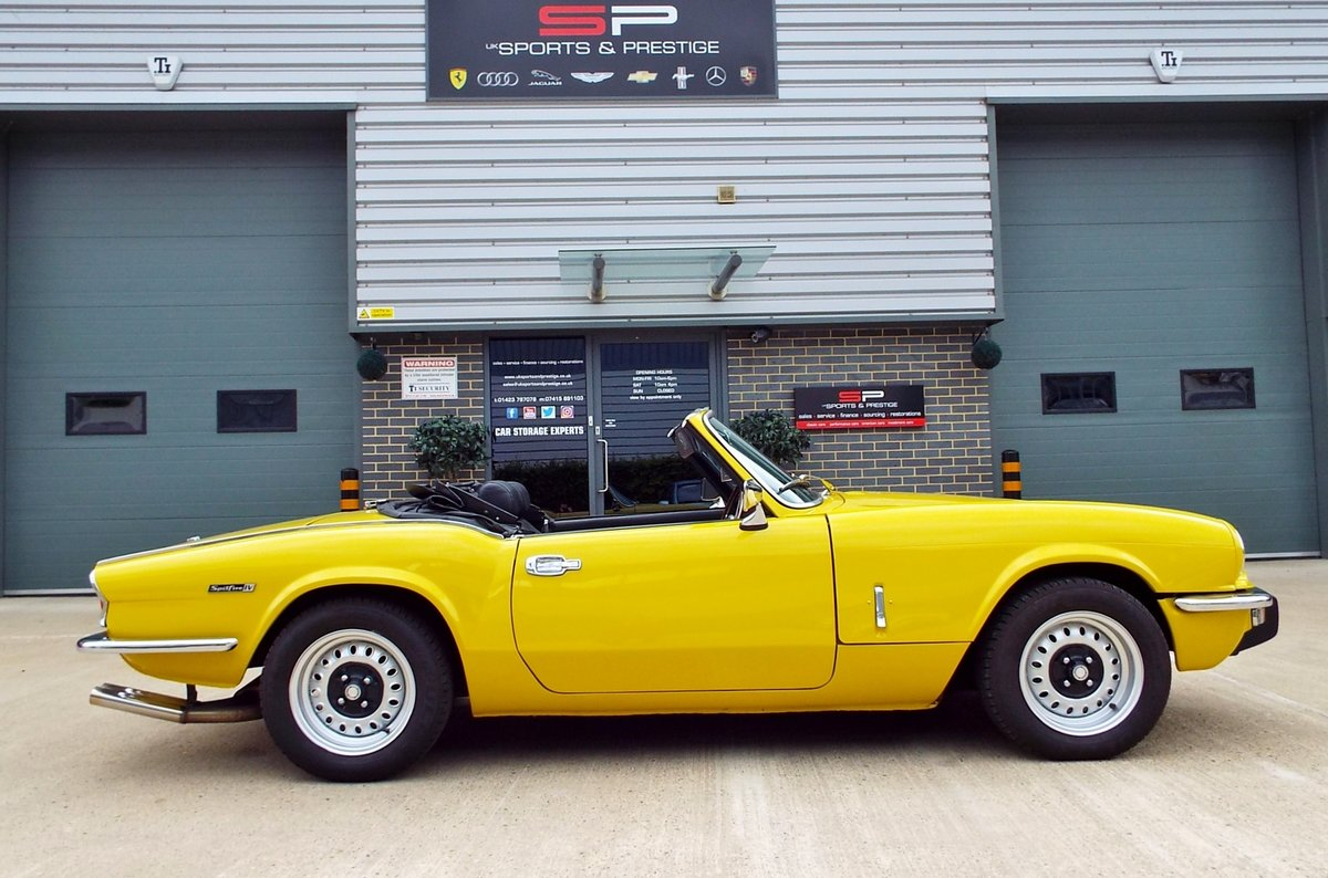 1972  Triumph Spitfire Mark IV Great Example  For Sale (picture 2 of 6)