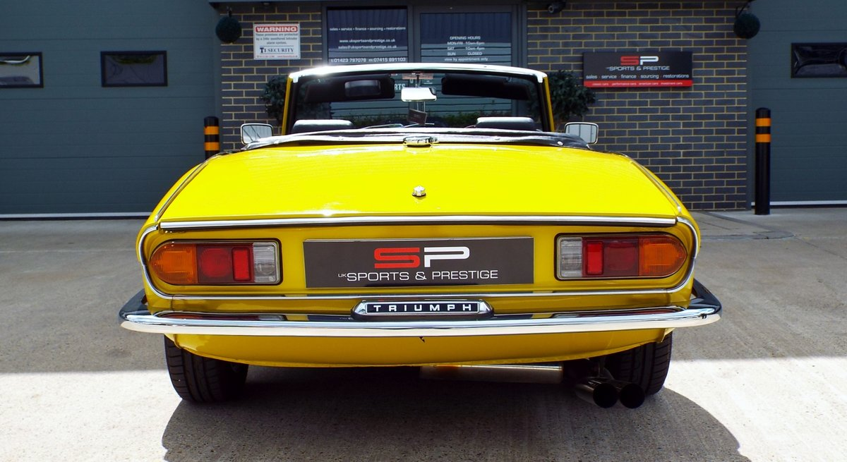 1972  Triumph Spitfire Mark IV Great Example  For Sale (picture 4 of 6)